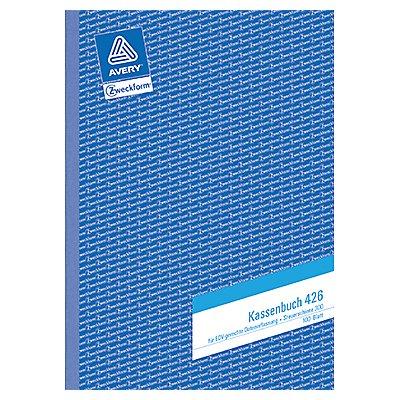 Avery Zweckform Kassenbuch 426 DIN A4 100Blatt