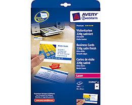 Avery Zweckform Visitenkarte C32016-25 DIN A4 weiß 10 St./Pack.