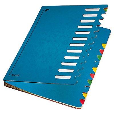 Leitz Ordnungsmappe Deskorganizer Color 12Fächer