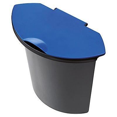 helit Abfalleinsatz H6106592 6Liter f. H 61061/H 61062 schwarz/blau