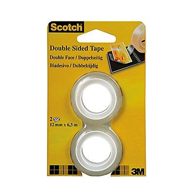 Scotch Klebefilm 6651263 12mmx6,3m beidseitig klebend 2 St./Pack.