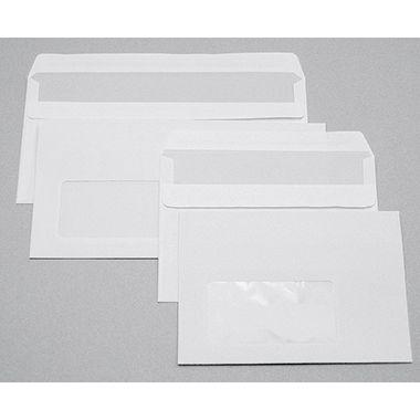 Soennecken Briefhülle 1343 DIN lang 80g oF nk hf weiß 25 St./Pack.