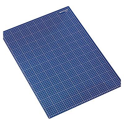 Schneidematte E-46002 00 DIN A2 60x0,3x45cm Vorderseite blau