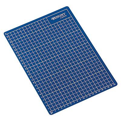 Schneidematte E-46004 00 DIN A4 30x0,3x22cm Vorderseite blau