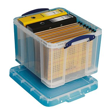 Really Useful Box Aufbewahrungsbox 35BK 39x31x4...