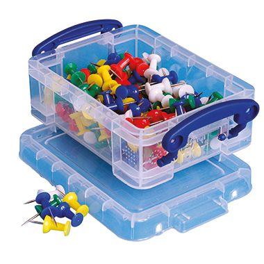 Really Useful Box Aufbewahrungsbox 0.2C 12x4,5x8,5cm 0,2l transparent