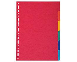 Exacompta Register Nature Future 1406E DIN A4 6teilig blanko farbig