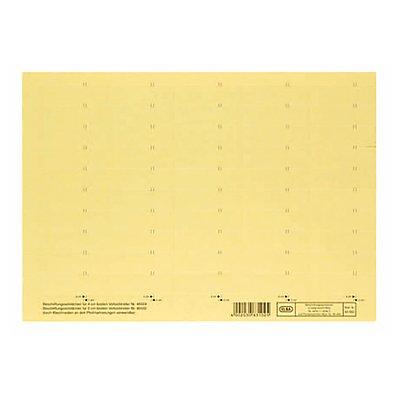 ELBA Beschriftungsschild 160g Karton 50Schilder