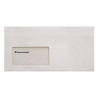 Soennecken Briefhülle 2930 DL 75g mF sk RCP grau 1.000 St./Pack.