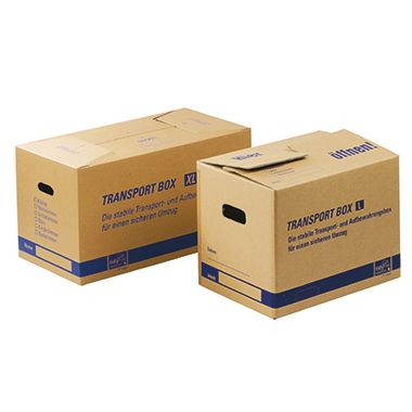 tidyPac Umzugskarton Transportbox XL TP110.002 68x35,5x35cm braun