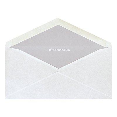 Soennecken Briefhülle 2073 DIN lang oF nk weiß 25 St./Pack.