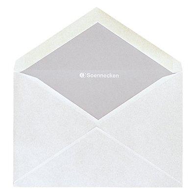 Soennecken Briefhülle 1330 C6 oF nk weiß 25 St./Pack.