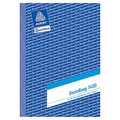 Avery Zweckform Bestellformular 1406 DIN A5 2x50Blatt