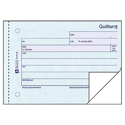 Avery Zweckform Quittung 321 DIN A6 quer 2x50Blatt
