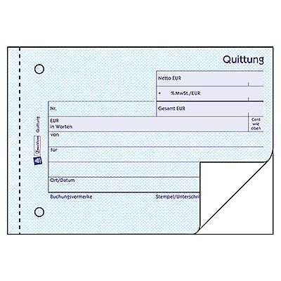 Avery Zweckform Quittung 306 DIN A6 quer 2x50Blatt