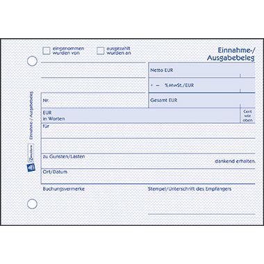 Avery Zweckform Ausgabebeleg 1205 DIN A6 quer 50Blatt weiß