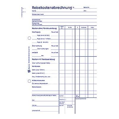 Avery Zweckform Reisekostenabrechnung 743 DIN A5