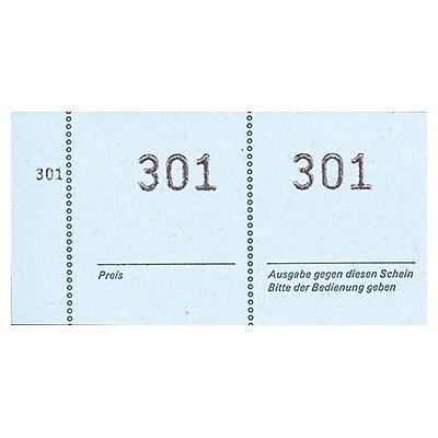 Avery Zweckform Nummernblock 869 105x53mm sortiert 100Blatt