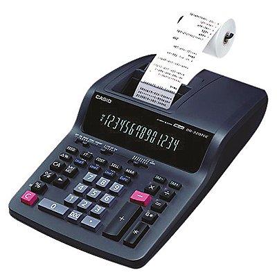 CASIO Tischrechner DR-320TEC Netzbetrieb 14Zeichen schwarz
