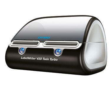 DYMO Etikettendrucker LabelWriter 450 Twin Turbo S0838870 schwarz