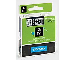 DYMO Schriftbandkassette D1 S0720710 9mmx7m schwarz auf blau