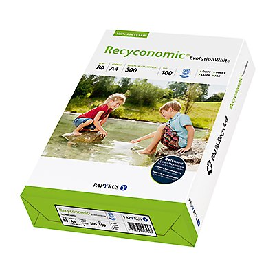 Recyconomic Kopierpapier Evolution White 88054052 DIN A4 500 Bl./Pack.