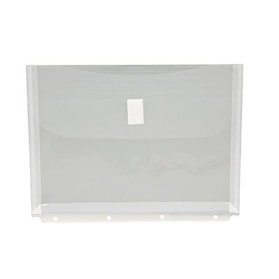 Dokumententasche DIN A4 mit Abheftrand transparent 5 St./Pack.