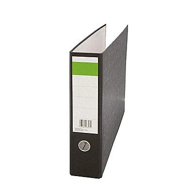 Ordner DIN 75mm Recyclingpapier schwarz