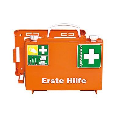 SÖHNGEN Erste Hilfe Koffer Quick-CD 3001125 DIN 13157 orange