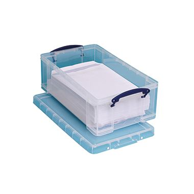 Really Useful Box Aufbewahrungsbox 6C 46,5x8,5x27cm 6l transparent