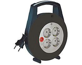 brennenstuhl Kabelbox Vario-Line 1092200 4fach 5m Kabel schwarz