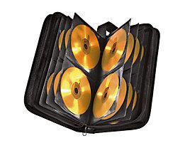 Hama CD/DVD Tasche 00011616 max. 64CDs/DVDs Nylon schwarz