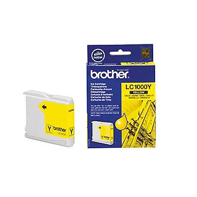 Brother Tintenpatrone LC1000Y 400Seiten gelb