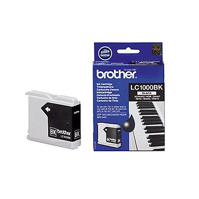 Brother Tintenpatrone LC1000BK 500Seiten schwarz