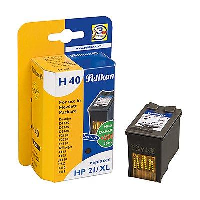 Pelikan Tintenpatrone 4101631 H40 wie HP C9351CE schwarz