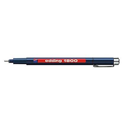 edding Feinschreiber 1800 profipen 4-180007001 0,7mm schwarz