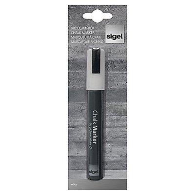 Sigel Kreidemarker 50 GL181 1-5mm Keilspitze weiß