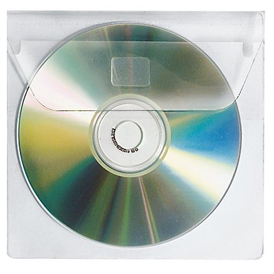 Veloflex CD/DVD Hülle 2259000 1CD PP glasklar 10 St./Pack.