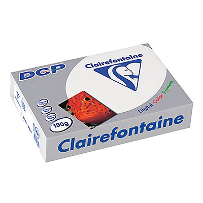 Clairefontaine Farblaserpapier DCP  DIN  190g ws 250 Bl./Pack.