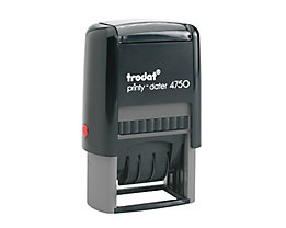 trodat Datumstempel Printy-Dater 41x24mm gr/sw