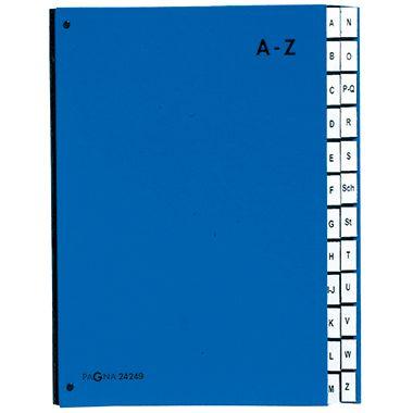 PAGNA Pultordner DIN A4 A-Z 24Fächer Polypropylen