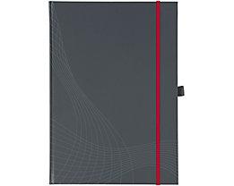 Avery Zweckform Notizbuch Notizio 7028 DIN A4 liniert 80Blatt grau