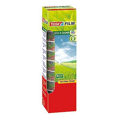tesa Klebefilm tesafilm Eco & Clear 57070 15mmx10m 10 St./Pack.