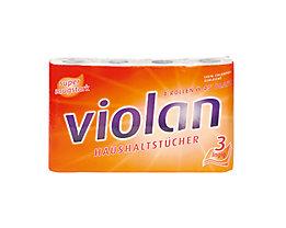 fripa Küchenrolle Violan 3074002 3-lagig weiß 4 St./Pack.