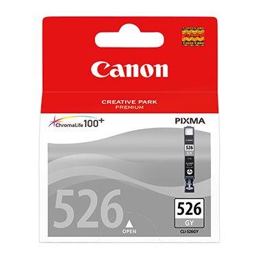 Canon Tintenpatrone CLI526GY 4544B001AA 520Seiten 9ml grau