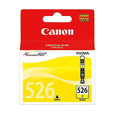 Canon Tintenpatrone CLI526Y 4543B001AA 9ml gelb
