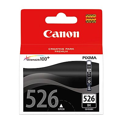 Canon Tintenpatrone CLI526BK 4540B001AA 3.000Seiten 9ml schwarz