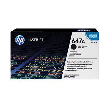 HP Toner CE260A 647A 8.500Seiten schwarz
