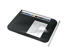 Leitz Schreibunterlage 53120095 65x50cm mit Abdeckung PVC schwarz