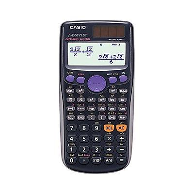 CASIO Schulrechner FX-85DE Plus Solar/Batterie 252Funktionen sw